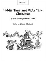Fiddle Time and Viola Time Christmas Piano Accompaniments