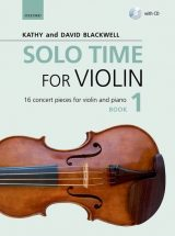 Solo Time for Violin, book 1
