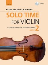 Solo Time for Violin, book 2 + CD