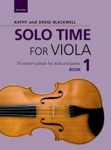 Solo Time for Viola, book 1