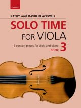 Solo Time for Viola, book 3